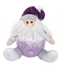 Светильник led дед мороз 18 см фиолет Новогодняя сказка 949185...