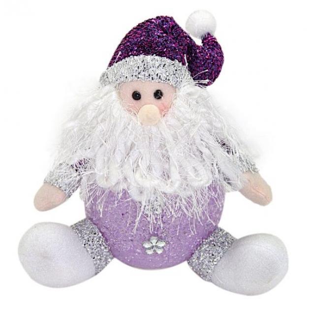 Светильник led дед мороз 18 см фиолет Новогодняя сказка 949185