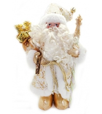 Кукла дед мороз 305 см золото Новогодняя сказка 949203