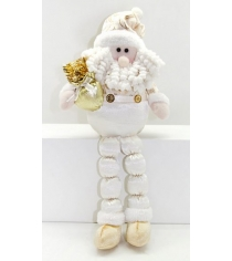 Кукла дед мороз 43 см сид золото Новогодняя сказка 949207