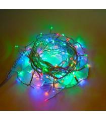 Гирлянда электрическая 200 led портьера цветного свечения Новогодняя сказка 971038