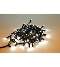 Гирлянда электрическая 100 led уличная белое свечение 5 м Новогодняя сказка 971232