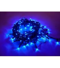 Гирлянда электрическая 100 led уличная синее свечение 5 м Новогодняя сказка 971234