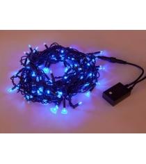 Гирлянда электрическая 100 led портьера уличн голубое свечение Новогодняя сказка 971597