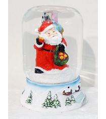 Шар декор дед мороз 9х11 см Новогодняя сказка 972089