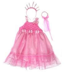 Костюм принцесса платье 56 см ободок палочка Новогодняя сказка 972133
