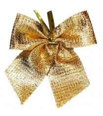 Бант 8 см 6 шт золот Новогодняя сказка 972188