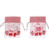Мешок для подарков в ассорт Новогодняя сказка 972407