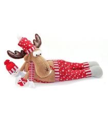 Кукла олень весельчак 66х305 см красн Новогодняя сказка 972412