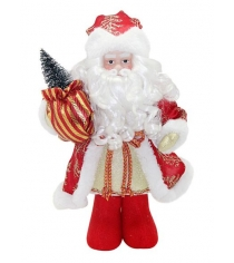 Кукла дед мороз 33 см под елку красн Новогодняя сказка 972429