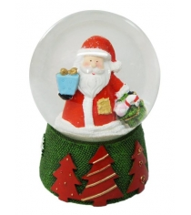 Шар декор дед мороз 80 мм Новогодняя сказка 972493