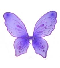 Приставные крылья бабочки 57х49 см фиолет Новогодняя сказка 972579