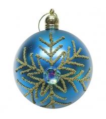 Набор шаров 8 см 3 шт гол Новогодняя сказка 972916