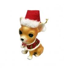 Сувенир собака чихуахуа 55х10 см Новогодняя сказка 972946