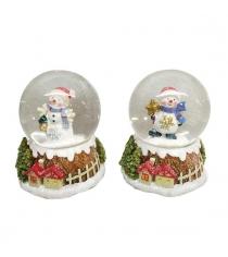 Шар декор снеговик 45 мм в ассорт Новогодняя сказка 972999