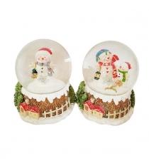 Шар декор снеговик 65 мм в ассорт Новогодняя сказка 973000
