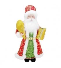 Кукла дед мороз 28 см красн Новогодняя сказка 973024