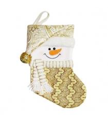 Носок для подарка 305 см зол Новогодняя сказка 973035