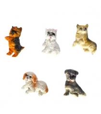 Сувенир магнит собака 7 см в ассорт Новогодняя сказка 973055
