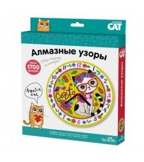 Алмазная мозаика по номерам алмазные узоры часы amelia cat Origami 3218
