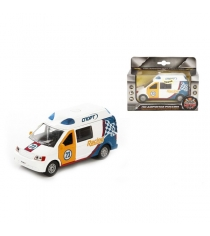 Модель автомобиля Ралли Спорт 13см Пламенный мотор 870071