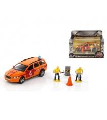 Модель автомобиля 1:36 Volvo Аварийная служба Горгаз 13см Пламенный мотор 870078