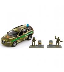 Модель автомобиля 1:36 Volvo Пограничные войска 13см Пламенный мотор 870079