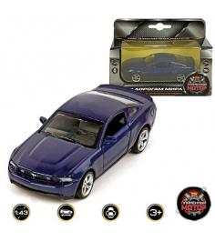 Модель автомобиля 1:43 Ford Mustang GT 12см в ассортименте Пламенный мотор 87013...