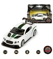 Модель автомобиля 1:43 Bentley Continental GT3 12см Пламенный мотор 870141
