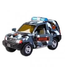 Модель автомобиля 1:36 Mitsubishi Омон свет звук 13см Пламенный мотор 870202