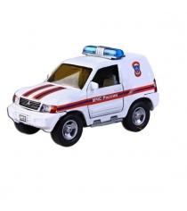 Модель автомобиля 1:36 Mitsubishi МЧС России 13см Пламенный мотор 870204