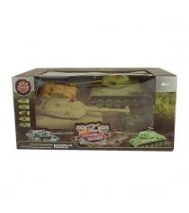 Танковый бой радиоуправляемый 1:32 Т34 Abrams M1A2 Пламенный мотор 870236