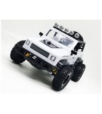 Джип Сафари р/у ПМ 020 белый Пламенный мотор 870244
