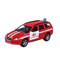 Модель автомобиля 1:36 Volvo V70 Пожарная охрана 13см Пламенный мотор 87498