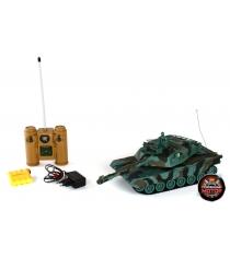 Танк радиоуправляемый 1:28 Abrams M1A2 Пламенный мотор 87556
