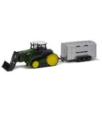 Трактор гусеничный на р/у 1:28 6 каналов Пламенный мотор 87572