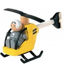 Вертолёт с пилотом Plan Toys 6060