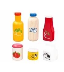 Игровой набор Plan Toys Еда и напитки 3432