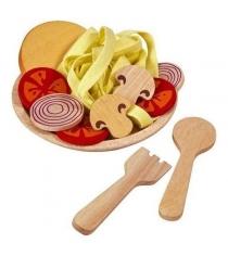 Игровой набор Plan Toys Спагетти с овощами 3466