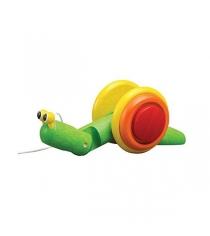 Деревянная каталка Plan Toys Улитка 5108