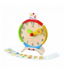 Развивающая игрушка Plan Toys Часы 5122