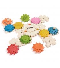 Развивающая деревянная игра Plan Toys Шестеренки 12 предметов 5634