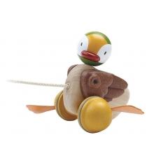 Деревянная каталка Plan Toys Утка 5677