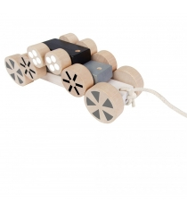 Деревянная каталка пирамидка Plan Toys Колеса 5705