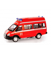Инерционная машина пожарная охрана свет звук Play Smart 9707-a