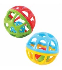 Развивающая игрушка PlayGo Мяч погремушка 10 см Play 1515