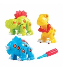 Игровой набор PlayGo Собери динозавра 3 шт Play 2040