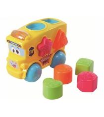 Развивающая игрушка PlayGo Автобус сортер Play 2106