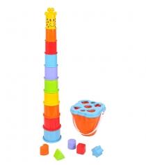 Активный центр PlayGo Пирамида жираф Play 2388