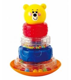 Развивающая игрушка PlayGo Пирамида неваляшка мишка Play 2392...